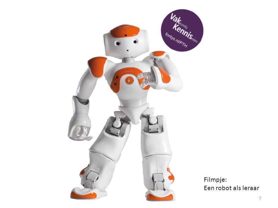 7 Filmpje: Een robot als leraar