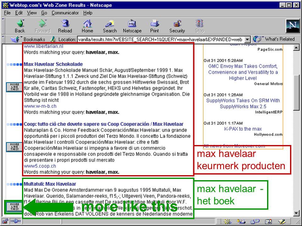 max havelaar keurmerk producten max havelaar - het boek more like this