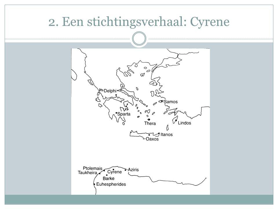 2. Een stichtingsverhaal: Cyrene