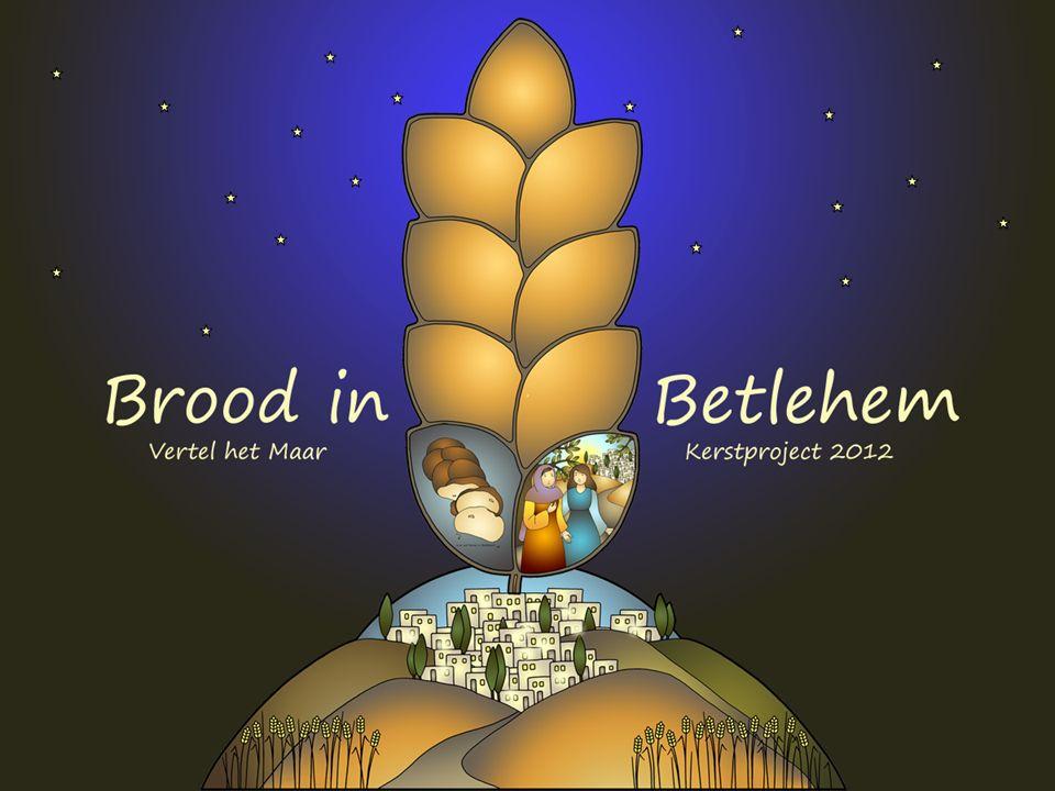 Thema: oogsten in het veld van Bethlehem.