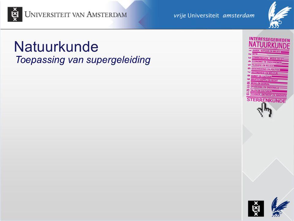Natuurkunde Toepassing van supergeleiding