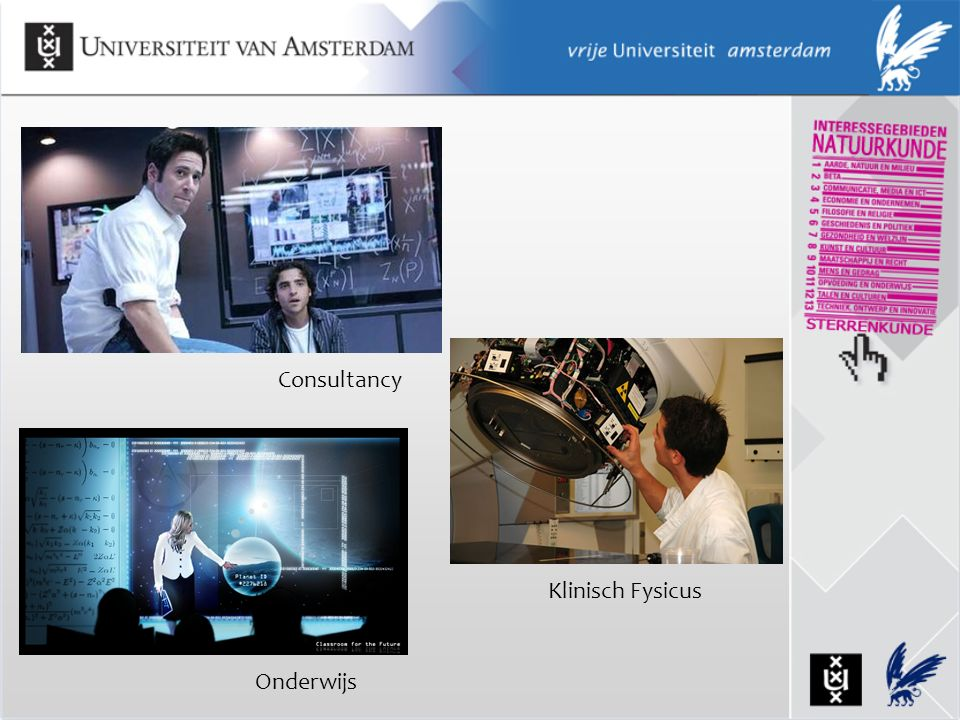 Consultancy Onderwijs Klinisch Fysicus