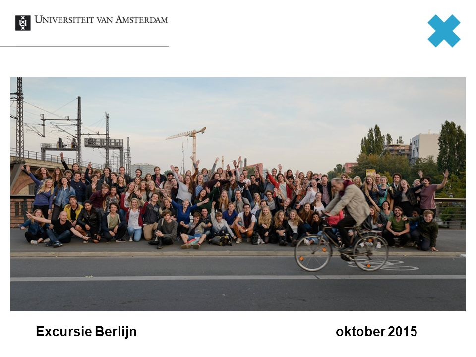 Excursie Berlijn oktober 2015