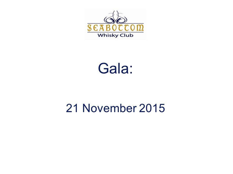 Gala: 21 November 2015