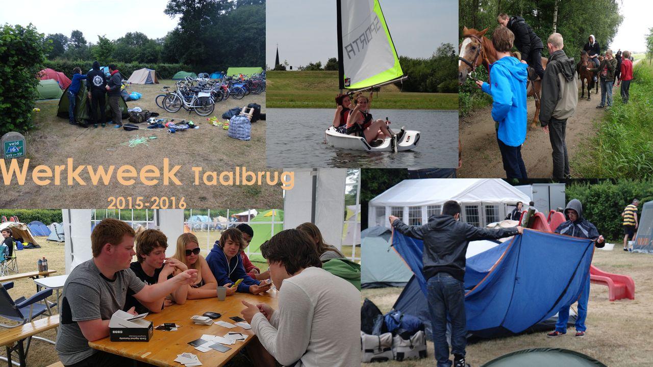 Werkweek Taalbrug 2015-2016
