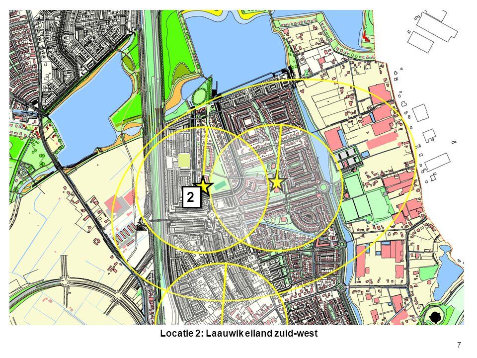 2 2 7 Locatie 2: Laauwik eiland zuid-west