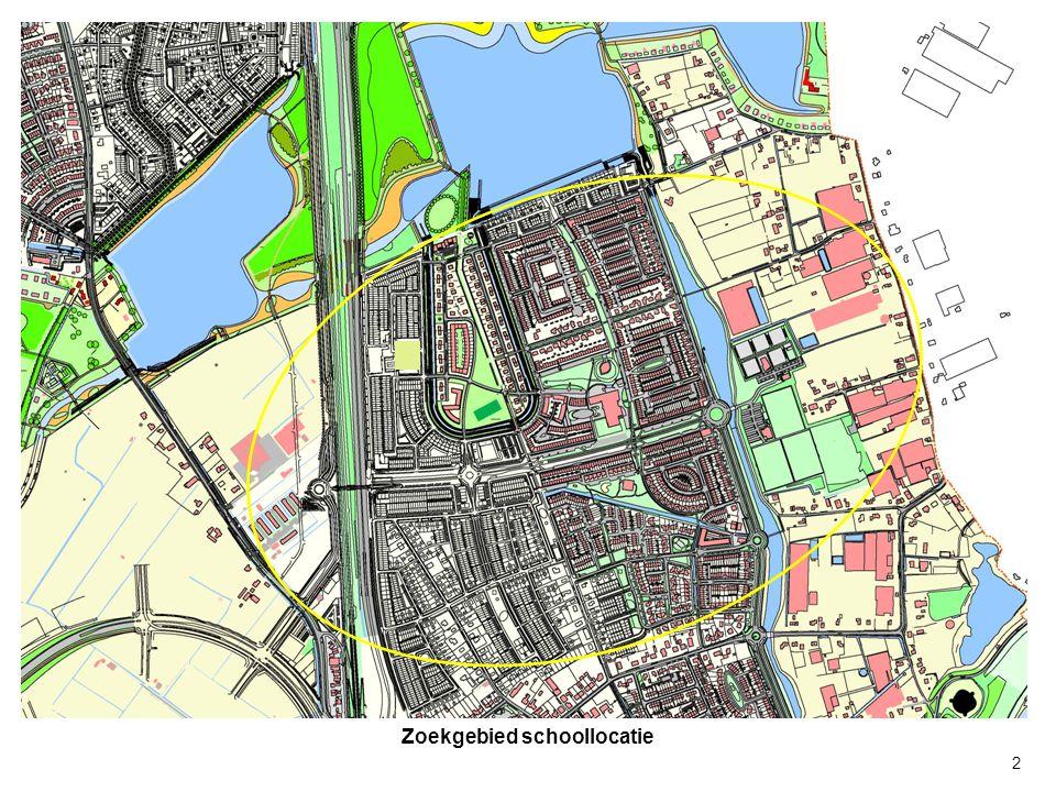 zoekgebied R = 300 meter Bestaande locatie De Ster met aanduiding gebied 300 meter straal 3