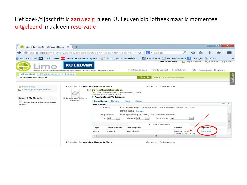 Het boek/tijdschrift is aanwezig in een KU Leuven bibliotheek maar is momenteel uitgeleend: maak een reservatie