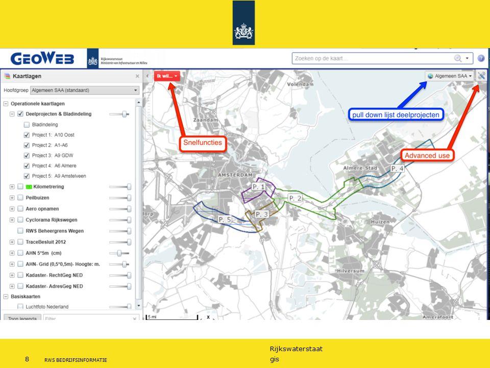 Rijkswaterstaat 8gis RWS BEDRIJFSINFORMATIE