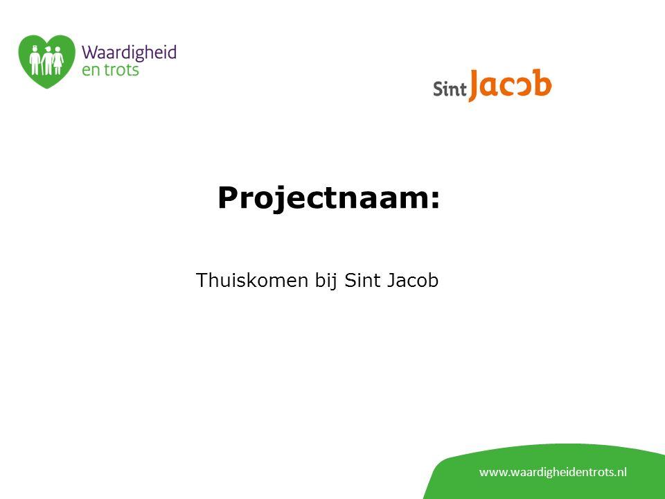 Projectnaam: Thuiskomen bij Sint Jacob