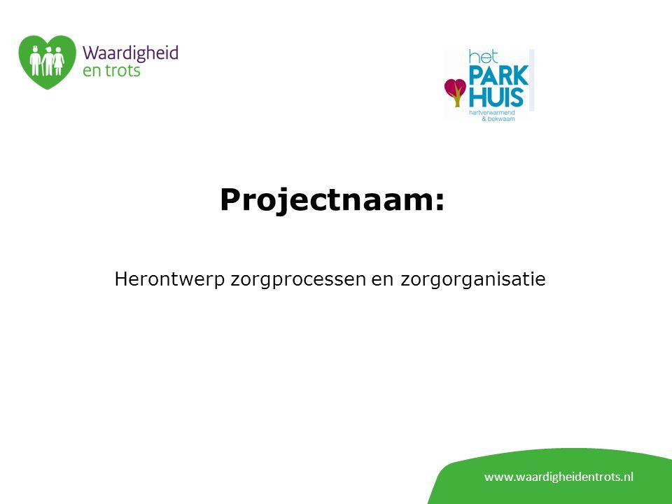 www.waardigheidentrots.nl Projectnaam: De mens zien