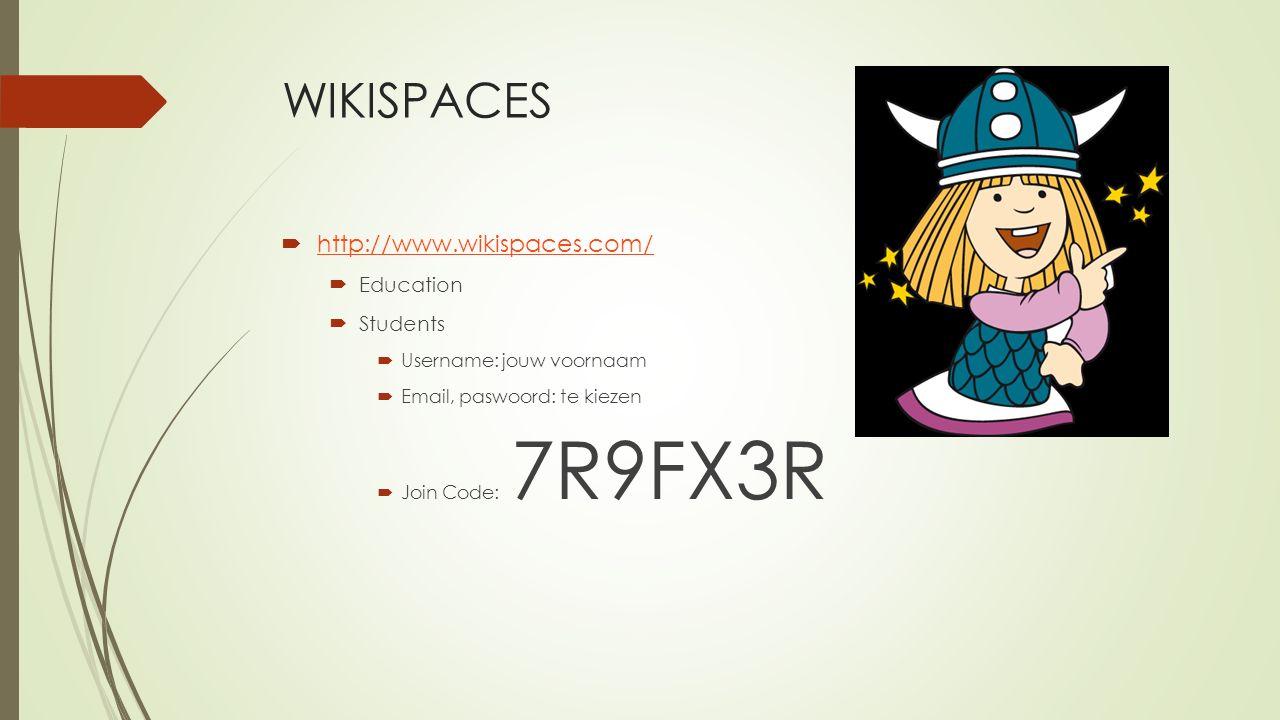 Werken met WIKISPACES  Nieuwe pagina aanmaken  Pagina aanmaken  Name  Tags  File  Drag and Drop  Add Files  Discuss  Subject  Body  Postplaats kiezen  Monitor discussion