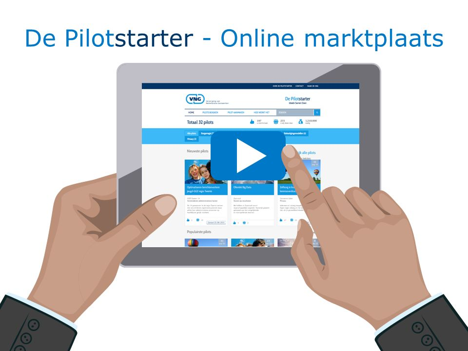 19 De Pilotstarter - Online marktplaats