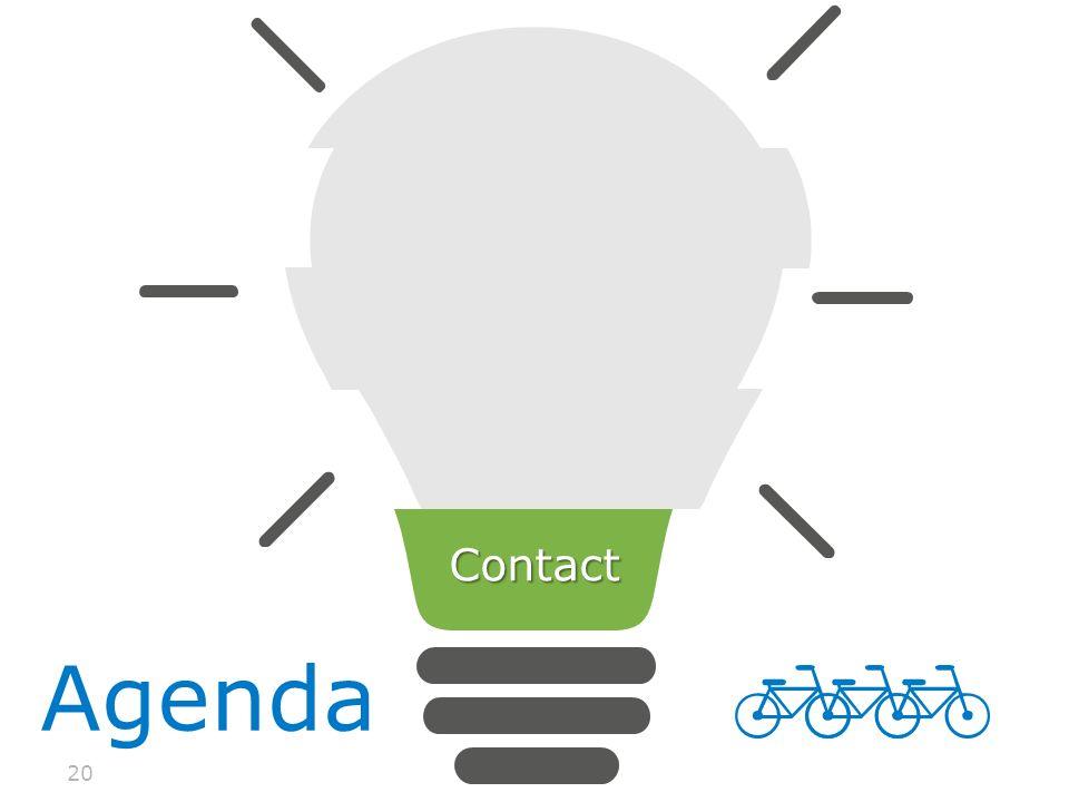 20 Agenda Contact