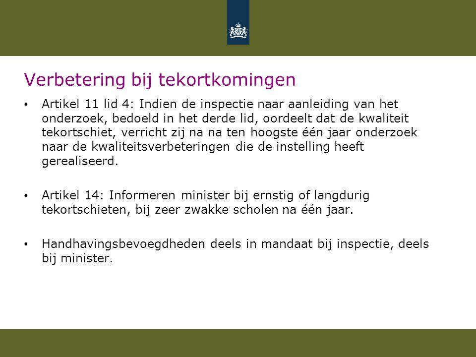 Het toezichtkader Artikel 13 WOT 1.