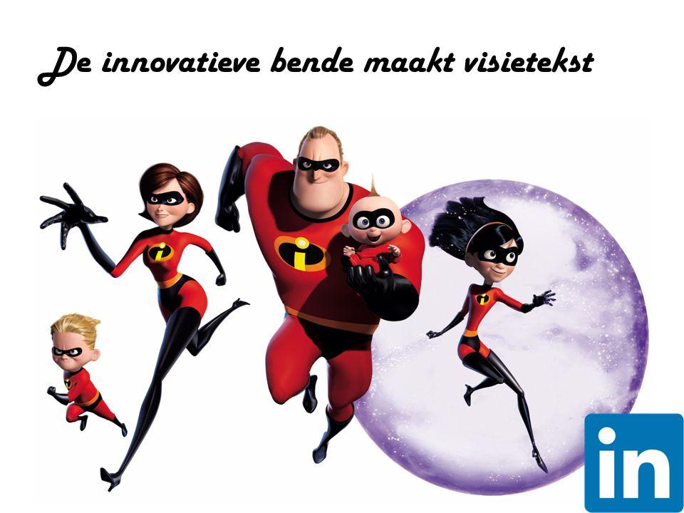 De innovatieve bende maakt visietekst