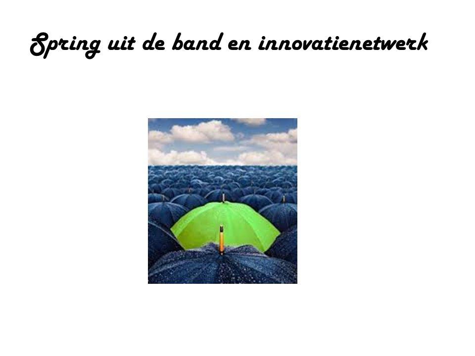 Spring uit de band en innovatienetwerk