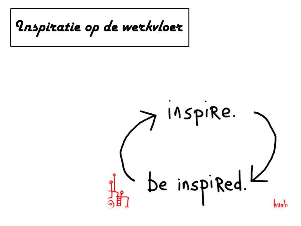 Inspiratie op de werkvloer