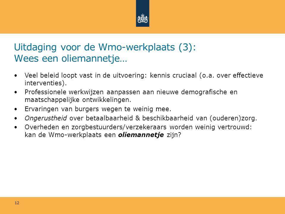 Uitdaging voor de Wmo-werkplaats (3): Wees een oliemannetje… Veel beleid loopt vast in de uitvoering: kennis cruciaal (o.a.