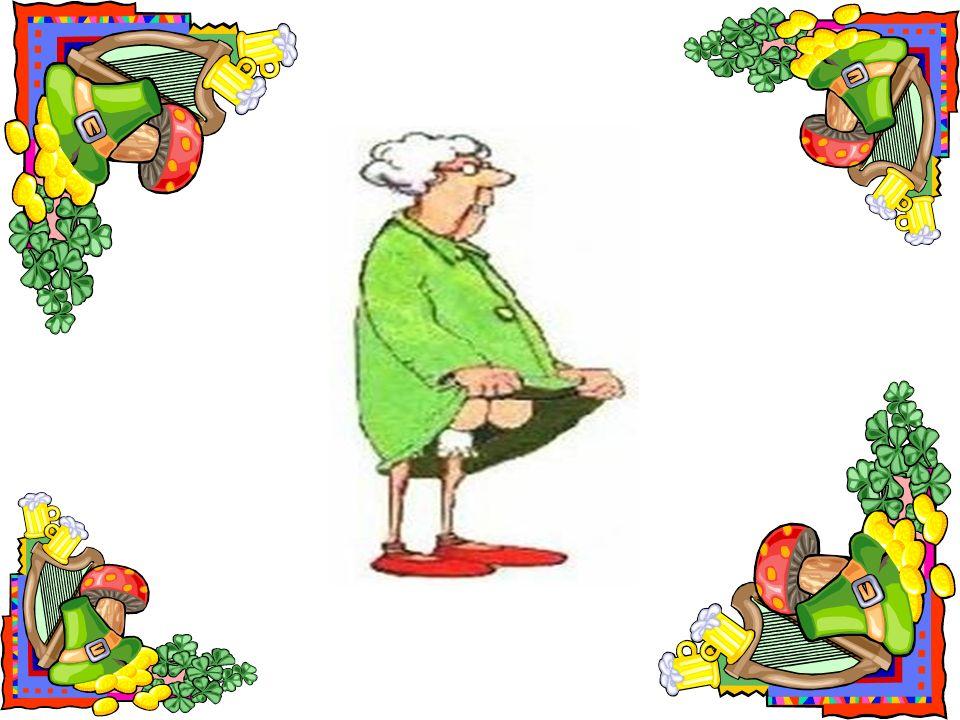 En zo gebeurde het dat mijn tante Louise haar linkerknie naar de knoppen hielp.