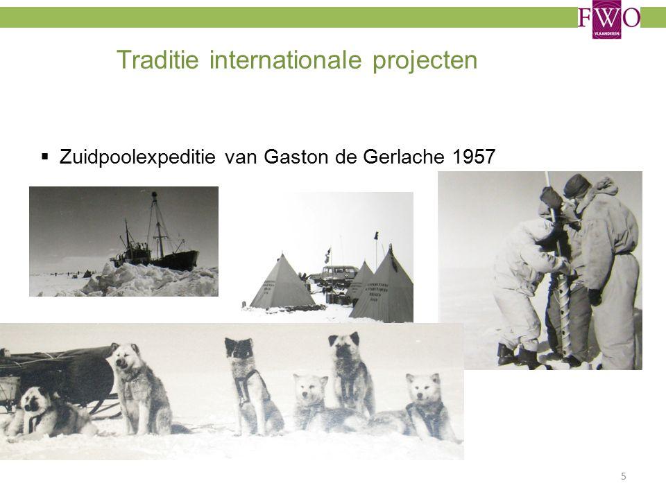 Traditie internationale projecten  Zuidpoolexpeditie van Gaston de Gerlache 1957 5
