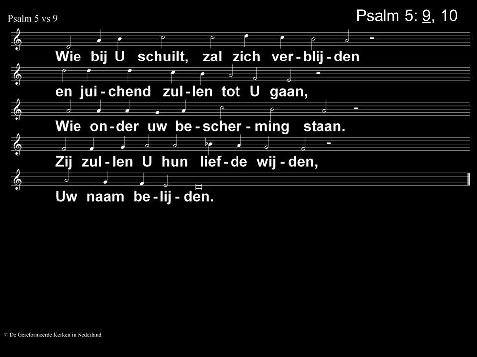 Psalm 5: 9, 10