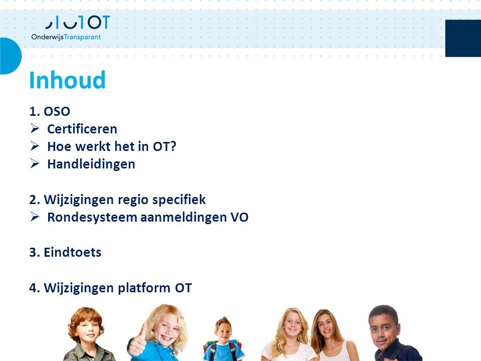 1. OSO  Certificeren  Hoe werkt het in OT.  Handleidingen 2.