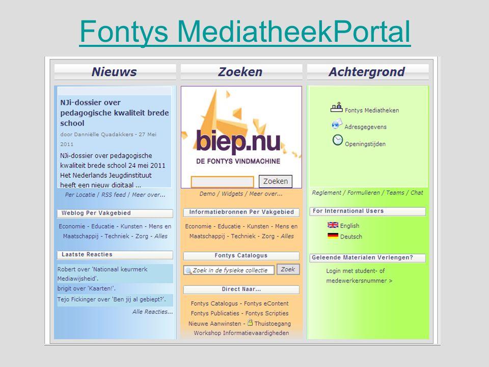 Fontys MediatheekPortal