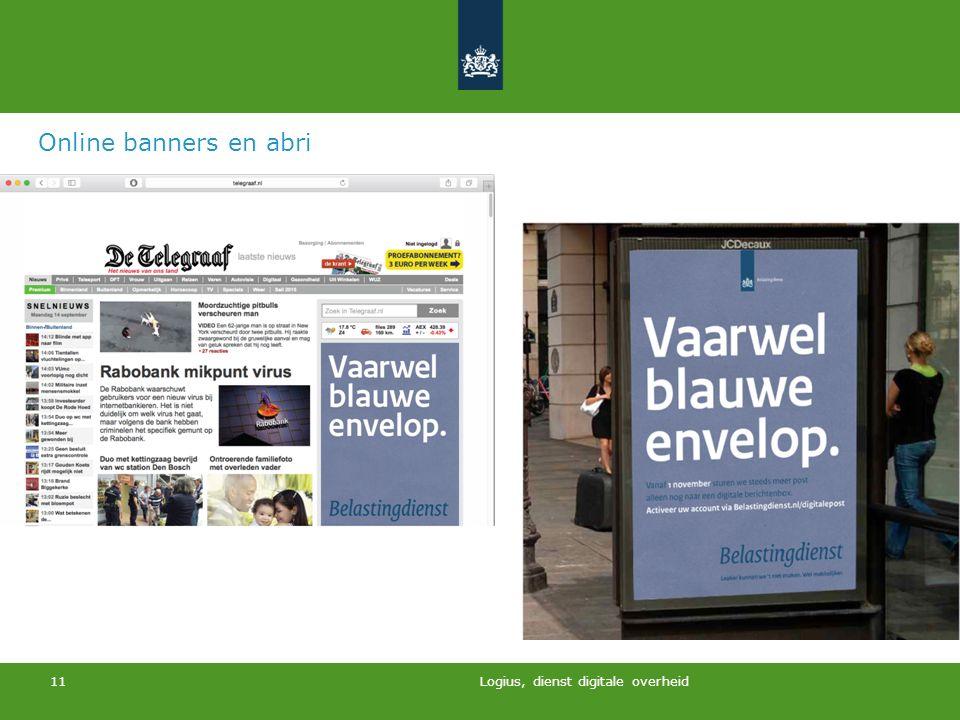 Logius, dienst digitale overheid 11 Online banners en abri