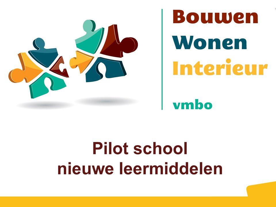 Pilot school nieuwe leermiddelen
