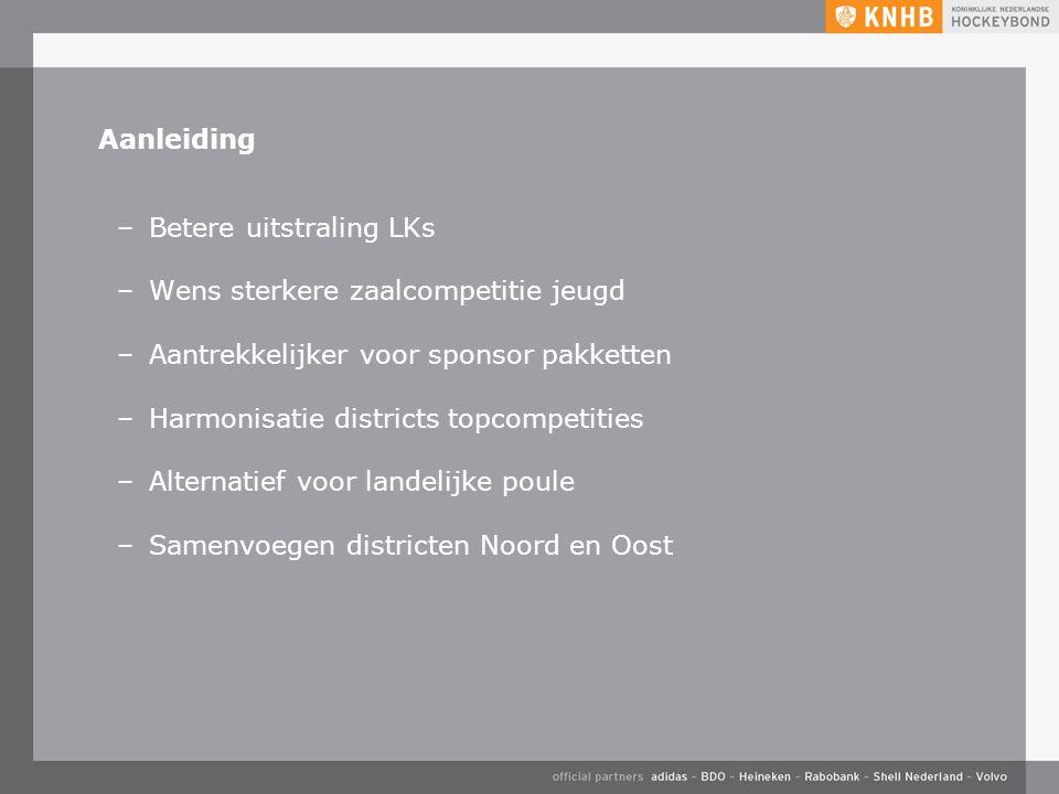 Uitgave oktober '15 ©KNHB Nieuwegein, 28 mei 2015 Aanpassing opzet LK zaal