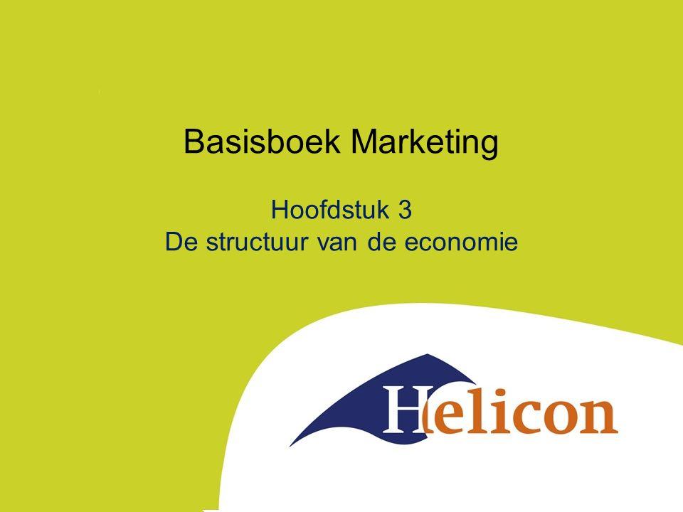 Basisboek Marketing Hoofdstuk 3 De structuur van de economie