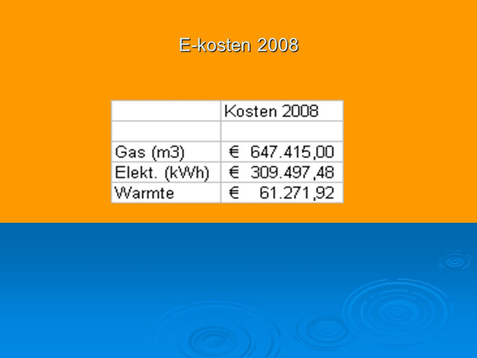E-kosten 2008