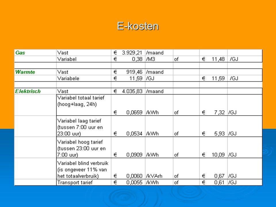 E-kosten