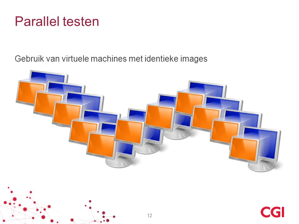 Parallel testen Gebruik van virtuele machines met identieke images 12