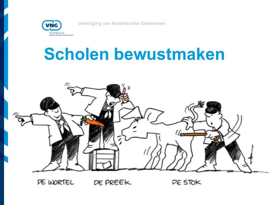Vereniging van Nederlandse Gemeenten Scholen bewustmaken