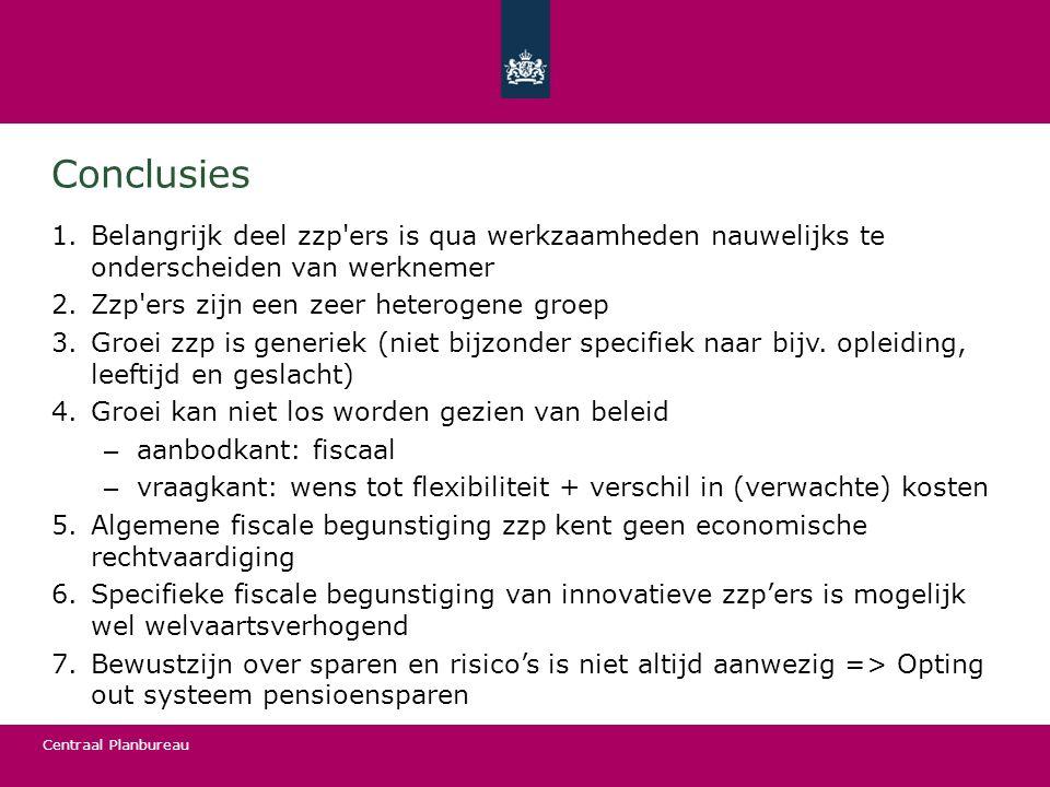 Centraal Planbureau Bescherming vaste contracten (OESO, 2013)