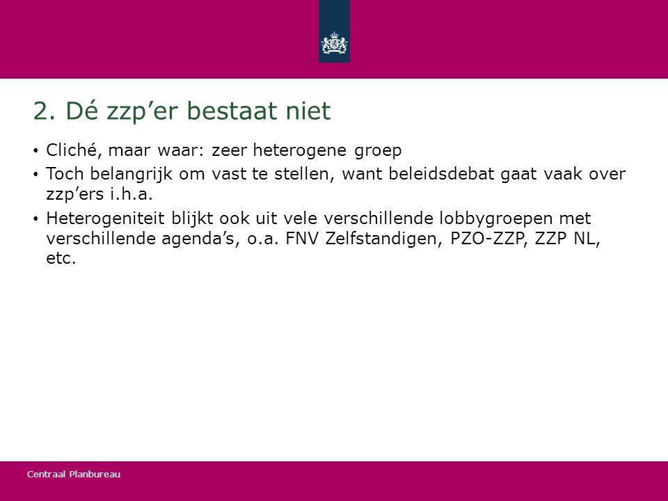 Centraal Planbureau Conclusie: probleem of oplossing.