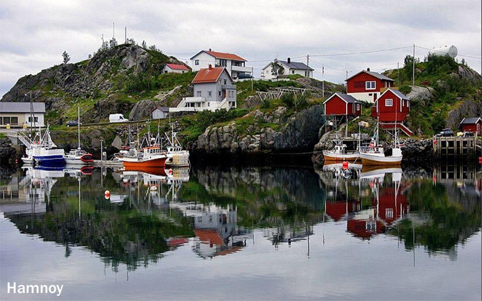 Aankomst in Trollfjord