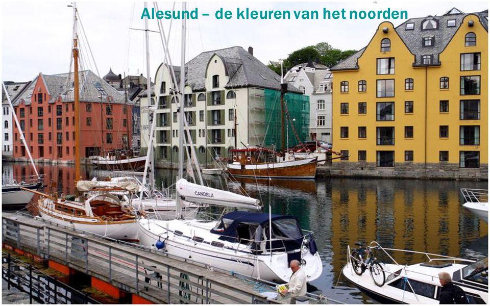 Alesund – de kleuren van het noorden