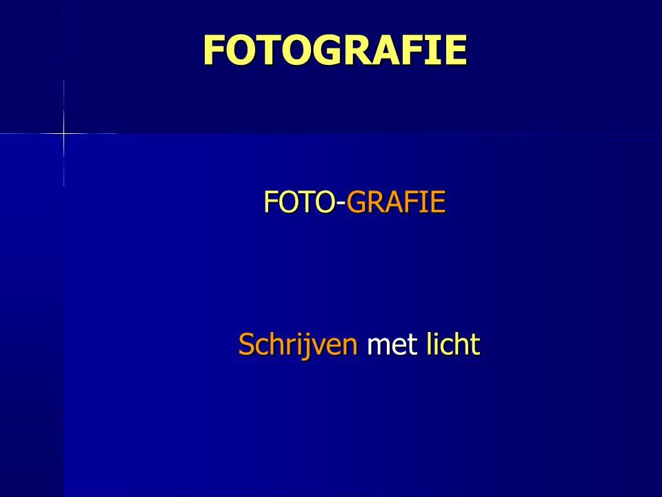 FOTO-GRAFIE Schrijven met licht Schrijven met licht FOTOGRAFIE