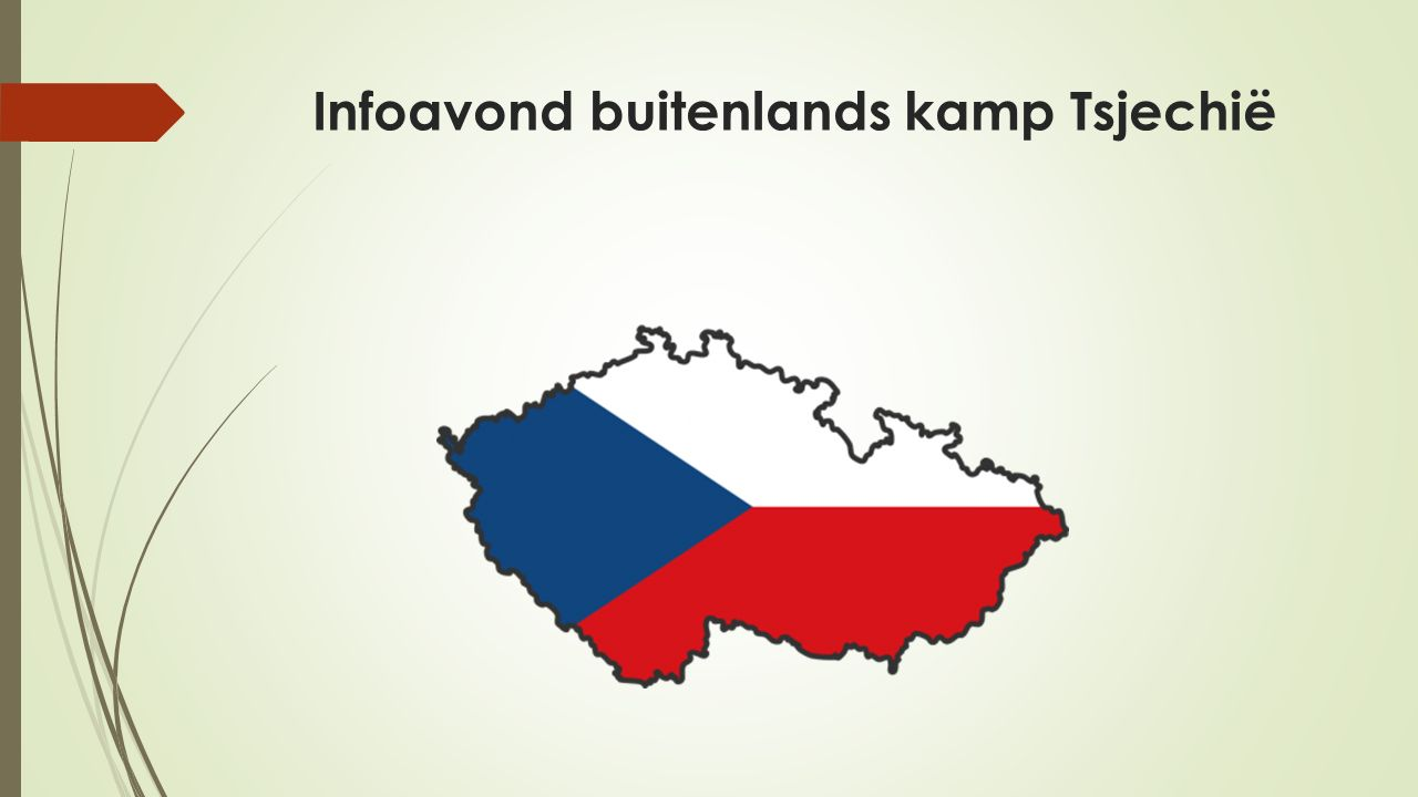 Infoavond buitenlands kamp Tsjechië