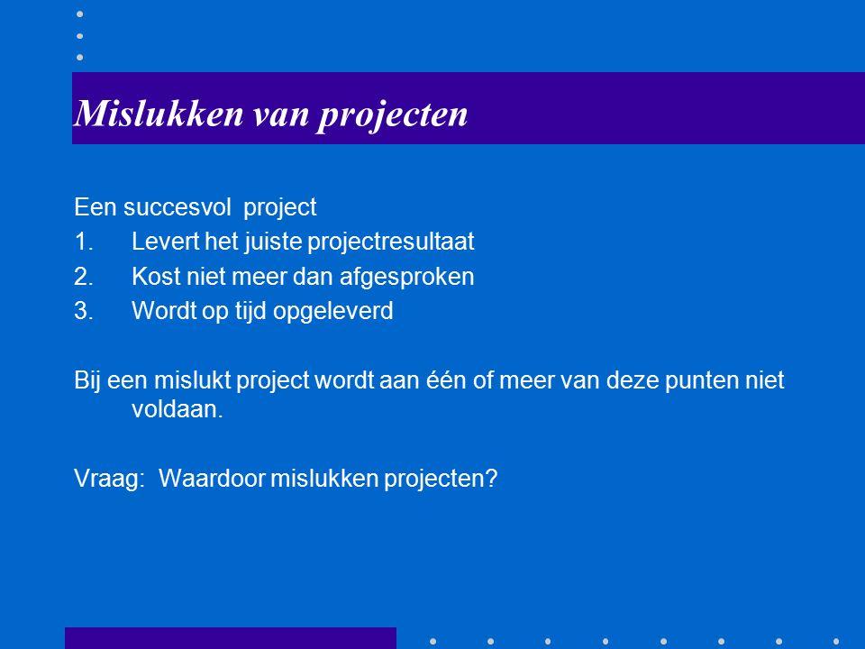 9 Matrixorganisatie Maximaal ingericht op projectmatig werken Projectgroepen worden uit afdelingen samengesteld
