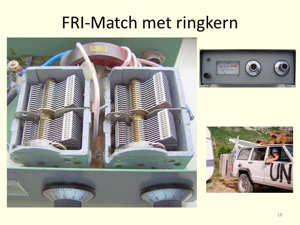 FRI-Match met ringkern 18