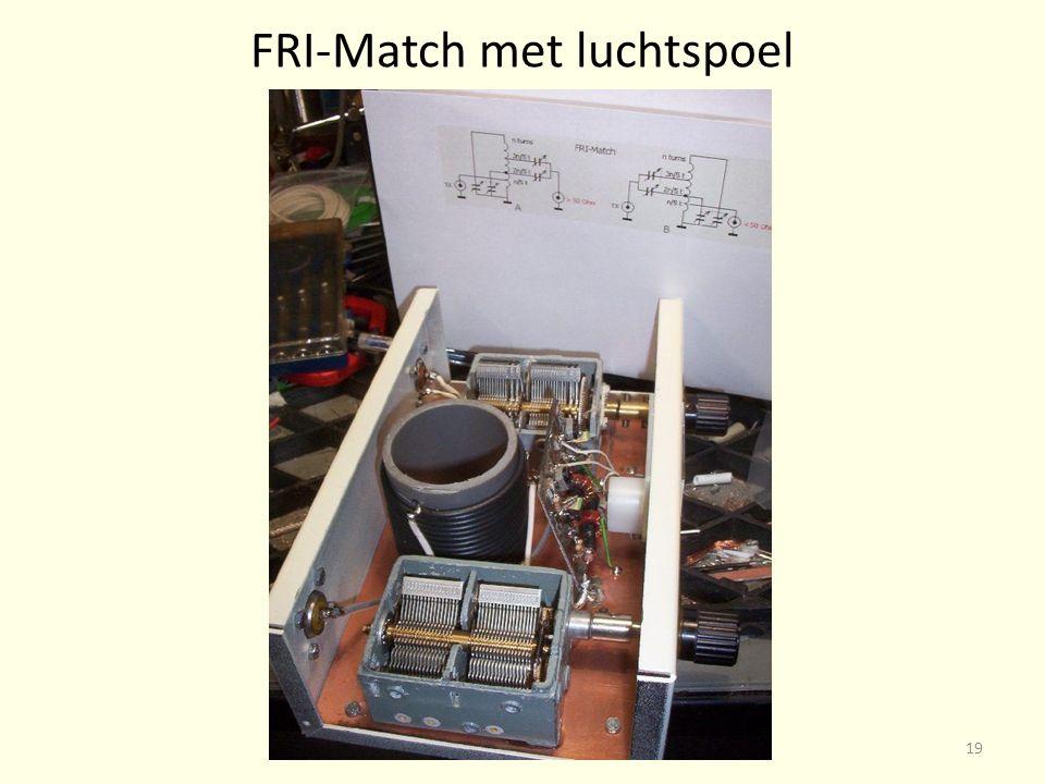 FRI-Match met luchtspoel 19