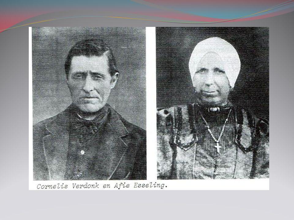 Antje Verdonk 1871-1966 Getrouwd 1874 met Jacob Kok 1873-1926