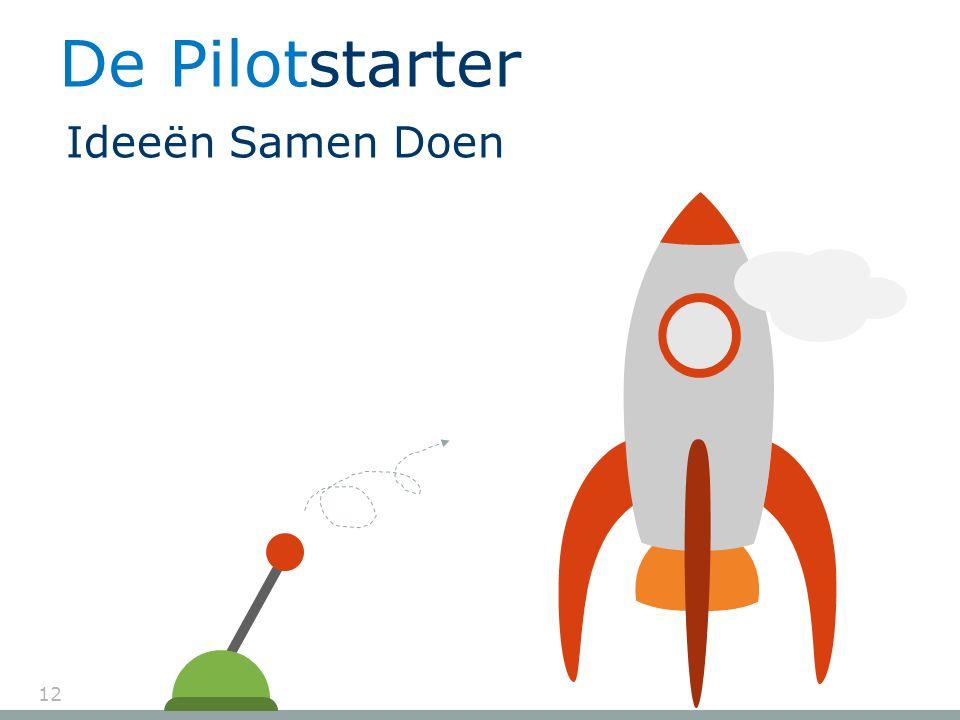 12 De Pilotstarter Ideeën Samen Doen