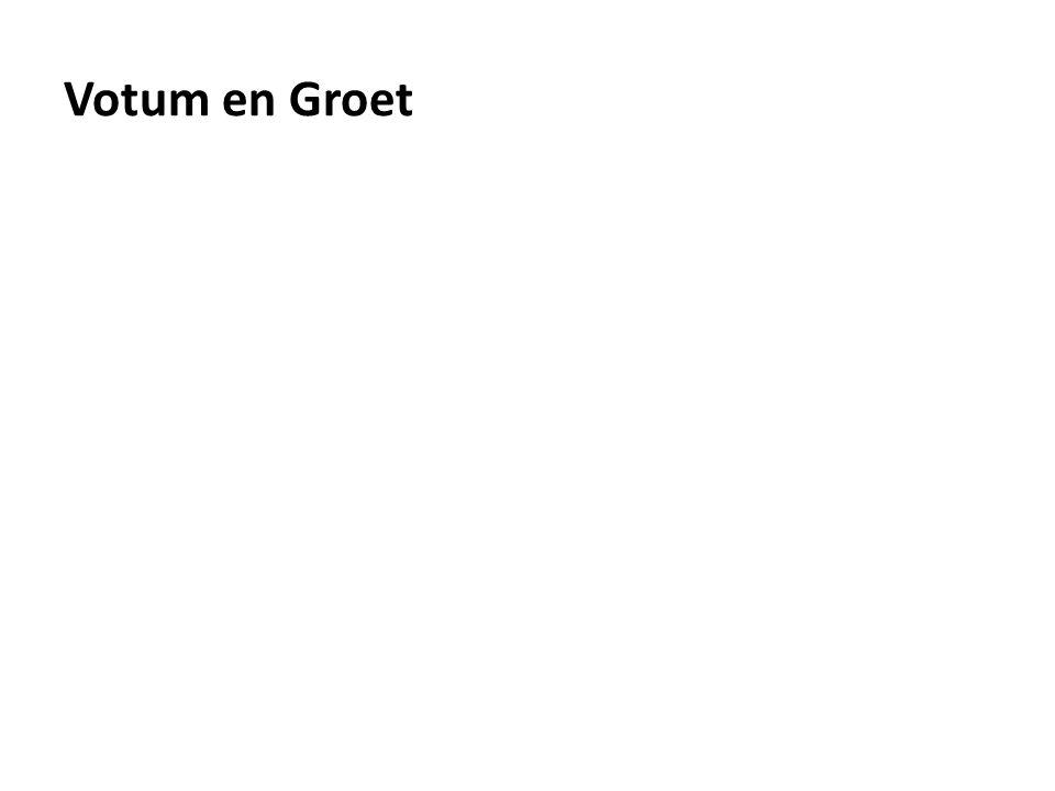 Votum en Groet