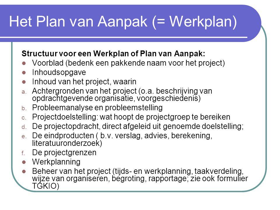 Projectonderwijs algemeen  Presentatiefase: a) Schriftelijk en b) Mondeling aan de opdrachtgever c) Documenten: Eindverslag, en Verzamelde notulen in