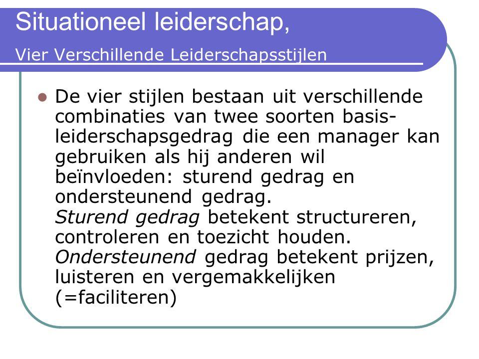 Situationeel leiderschap, Vier Verschillende Leiderschapsstijlen 3. Steunen. De leider vergemakkelijkt en ondersteunt de inspanningen van de medewerke